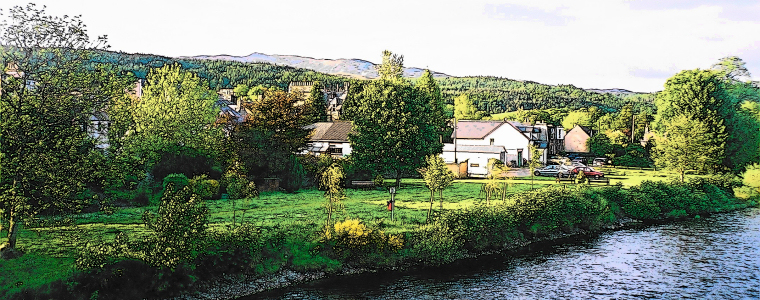 Earnside Cottage, Comrie (by Crieff), Perthshire, Scotland